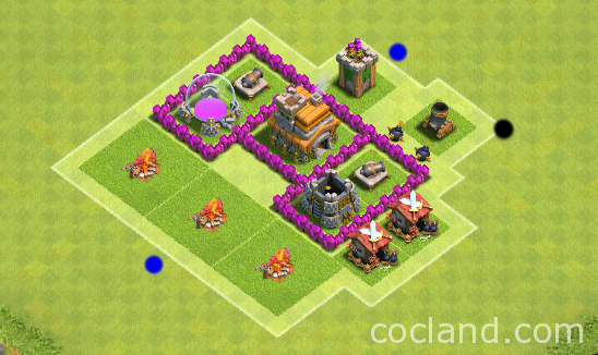 attacking-basic-townhall-level-2-3