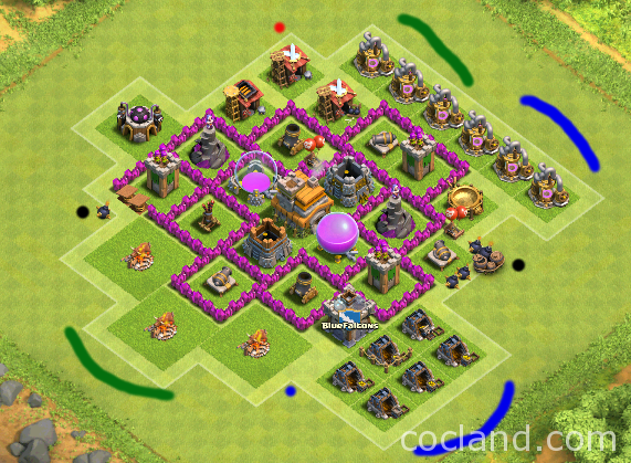 attacking-basic-townhall-level-6