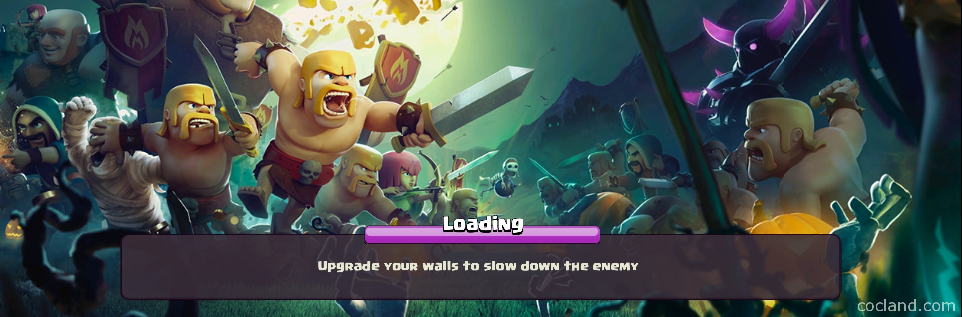 Clash of Clans Loading Screen Hints