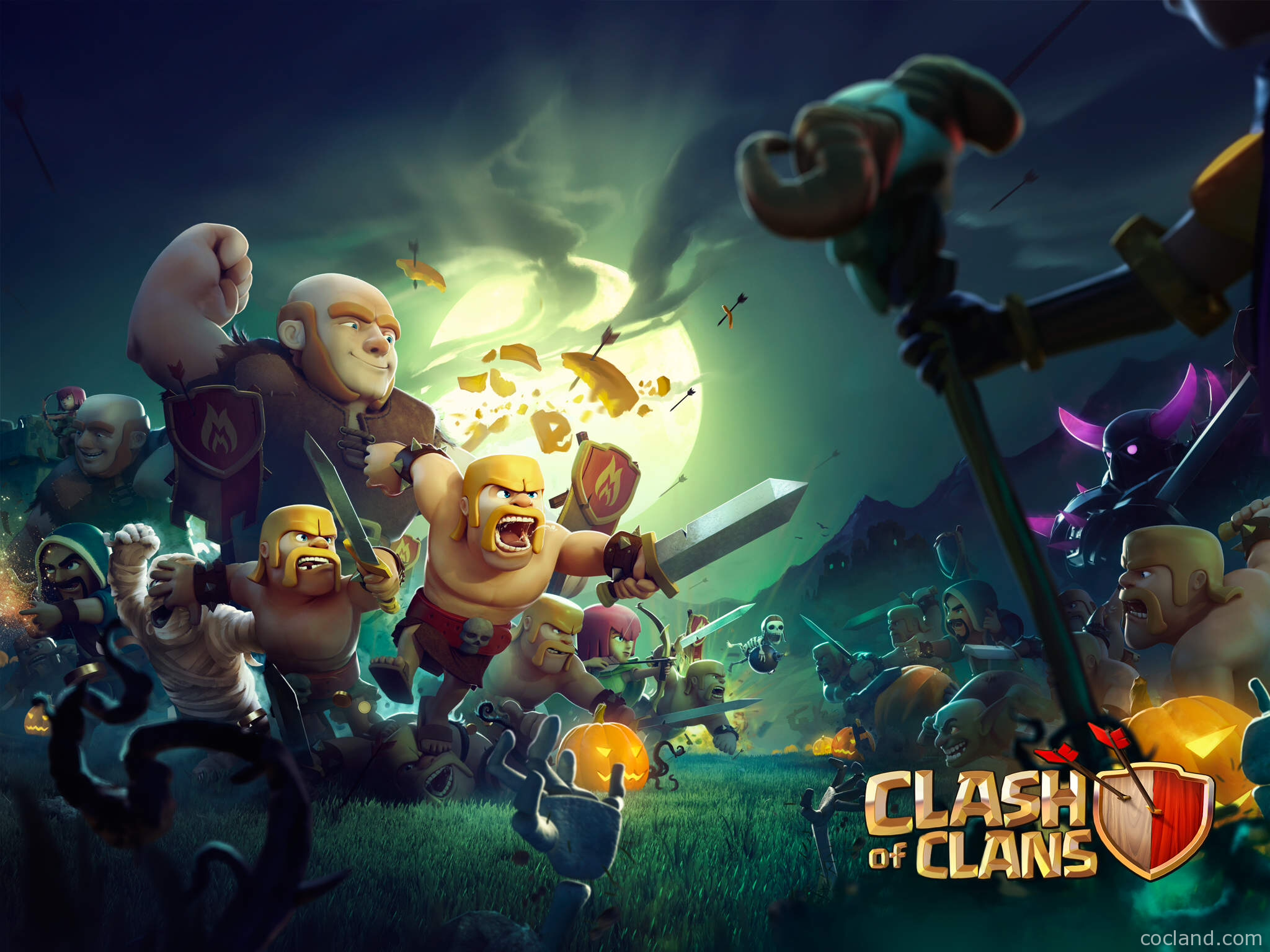 Clash of Clans Halloween
