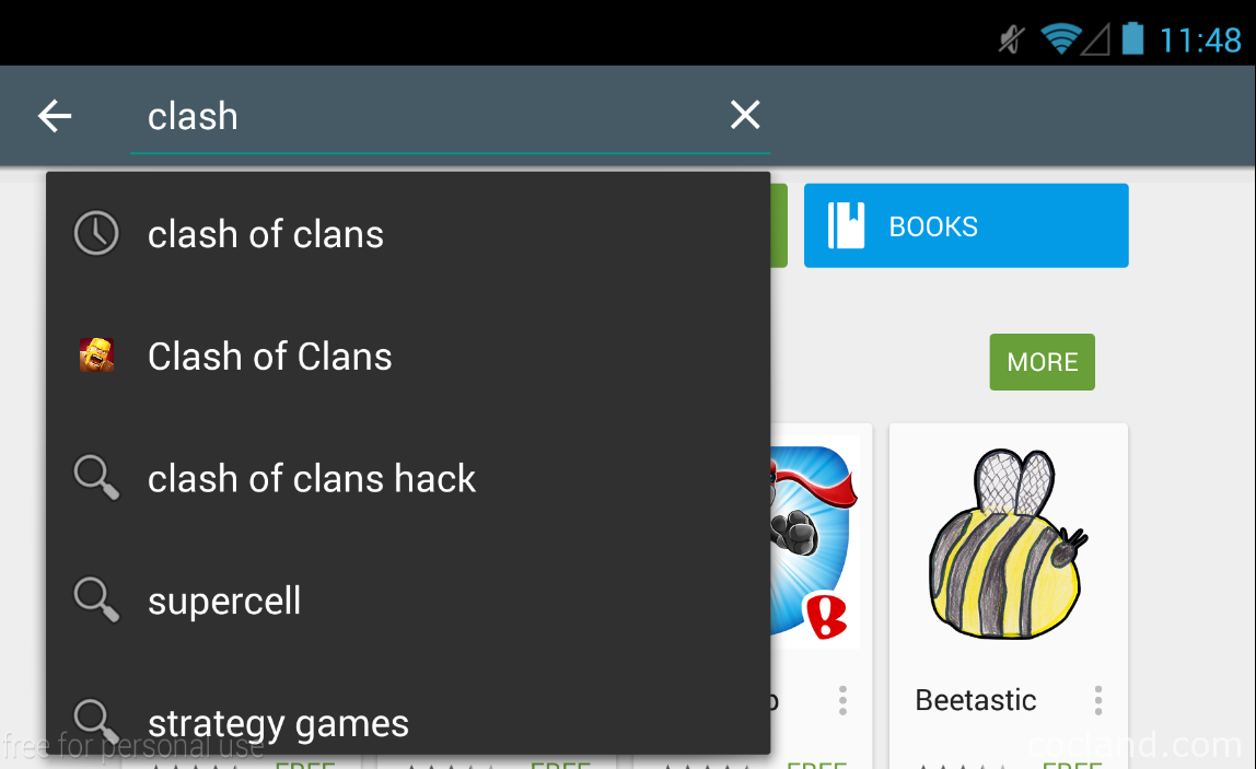Clash of clans should works perfectly on your device now enjoy