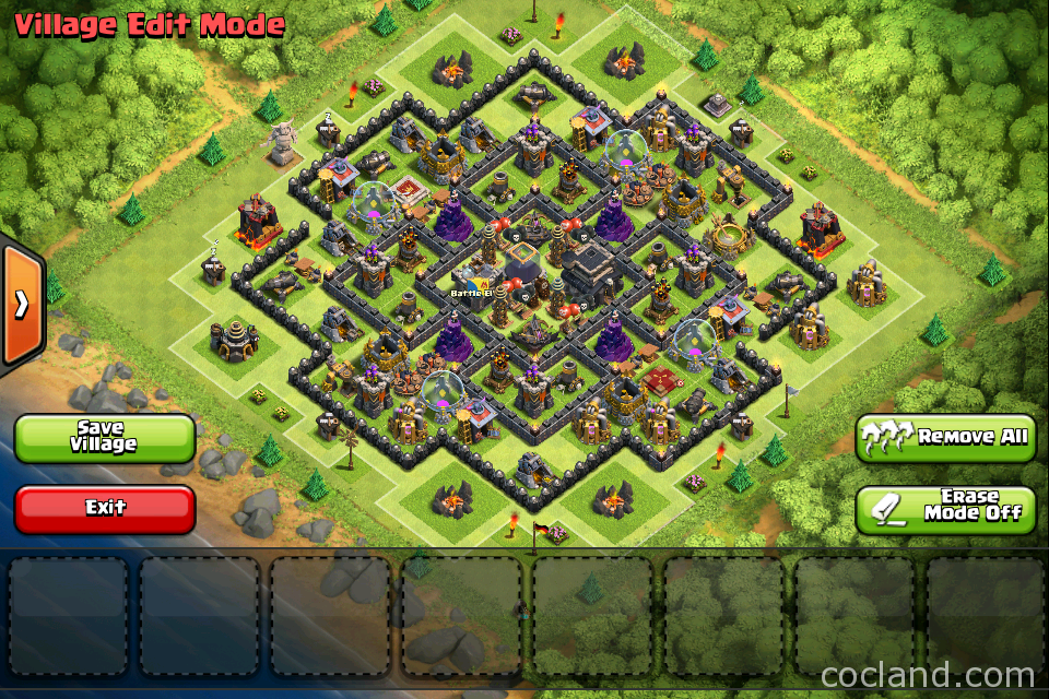 Town hall 9 trophy base the strategist town hall 9
