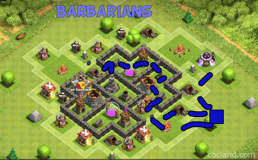 Stars almost th5 but with this base layout it will be a hard job
