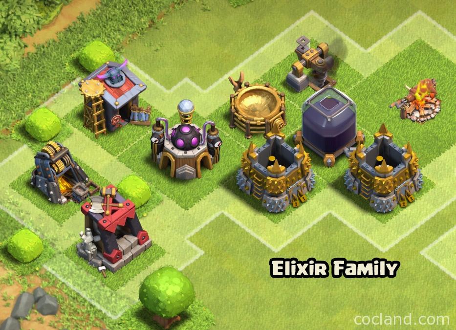 Upgrade buildings with Elixir