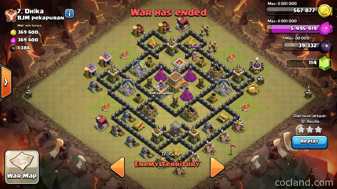 Gohogs attack strategy for town hall 8 clash of clans land
