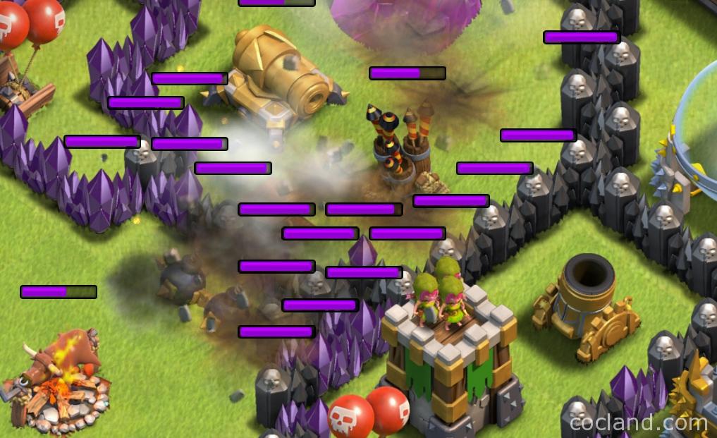 lightnig spell vs air defense