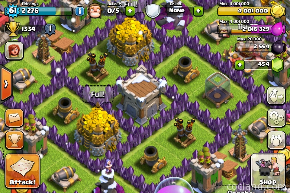 Here are some best features of this farming base for th7