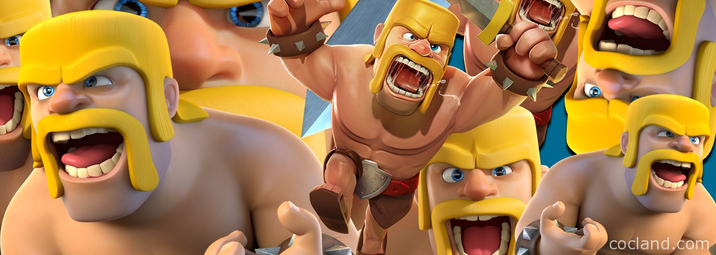 Barbarians angry because can't load Clash of Clans