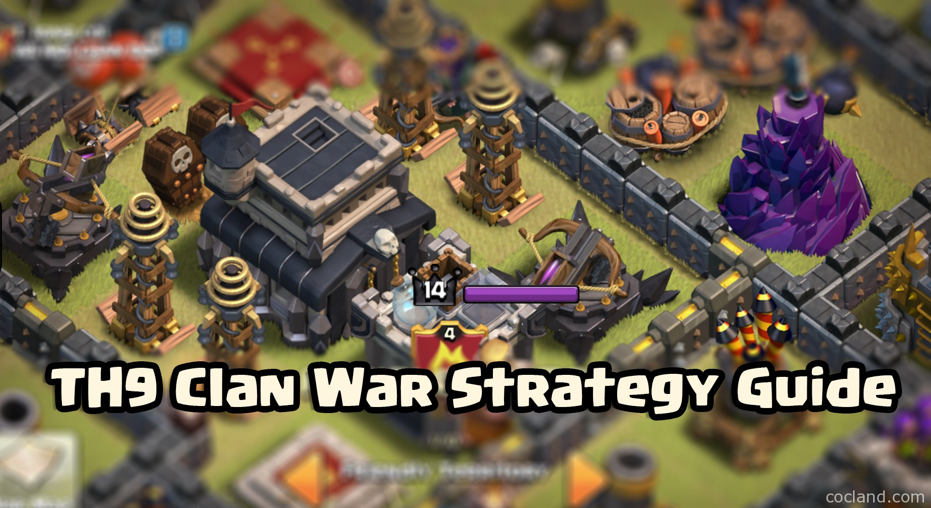 Th9 clan war strategy guide episode one clash of clans land