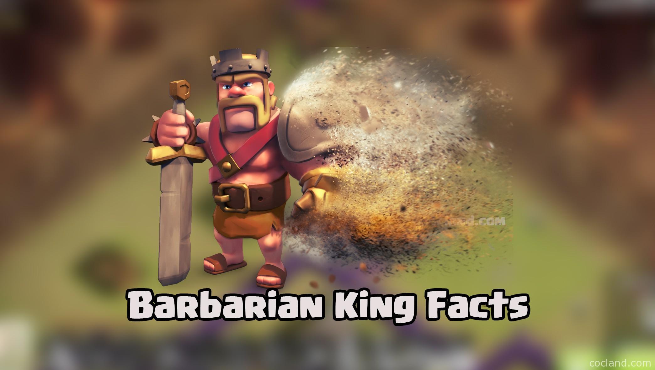 Barbarian King Fun Facts