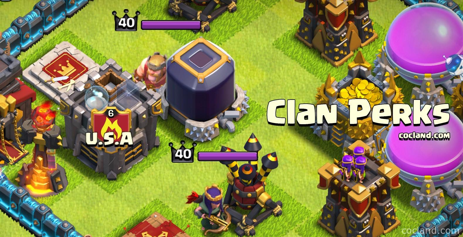 Clan Perks