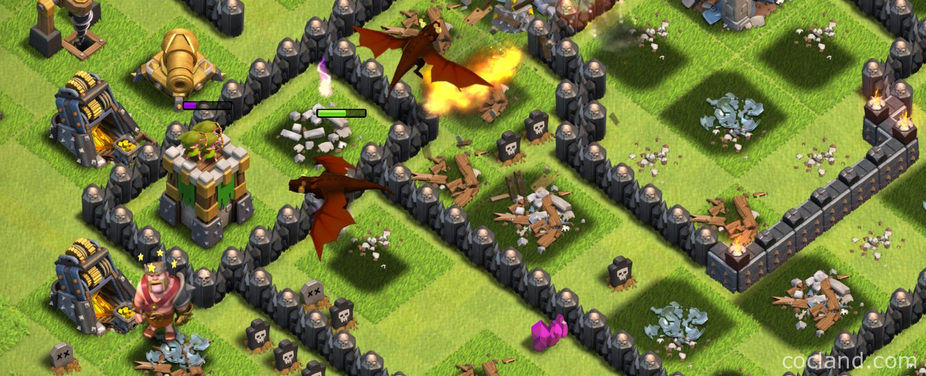 Dragons in Clash of Clans