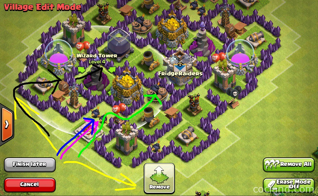Discindo Farming Base for Town Hall 7
