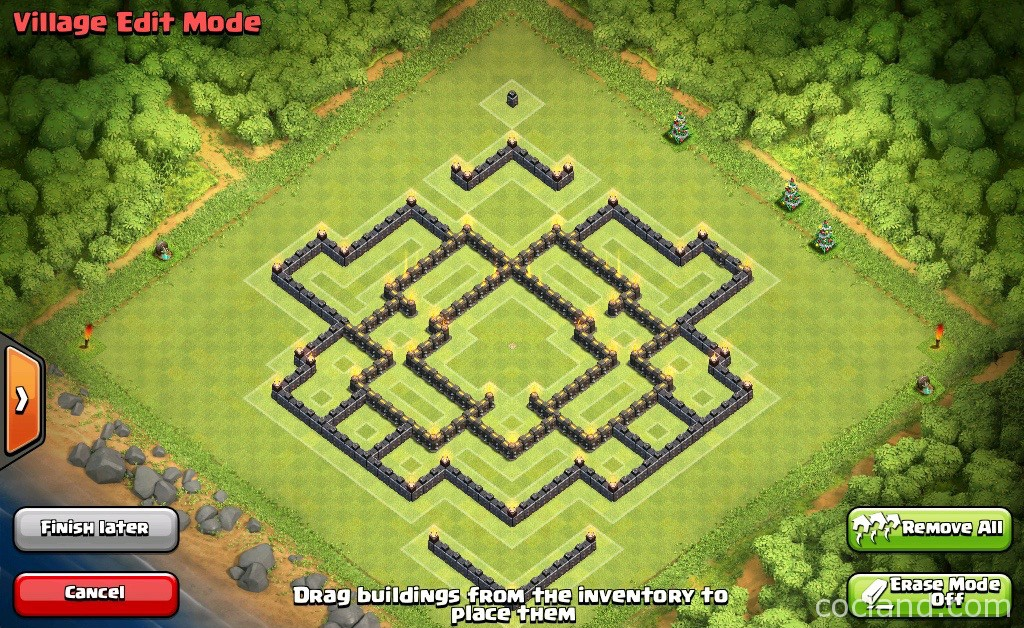 Undefeatable Town Hall 9 Troll Base