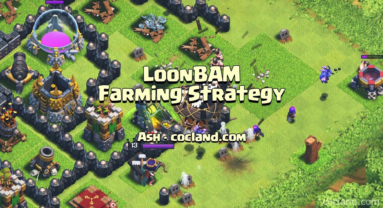 Dark Elixir Drill Boost - Loonbam farming strategy