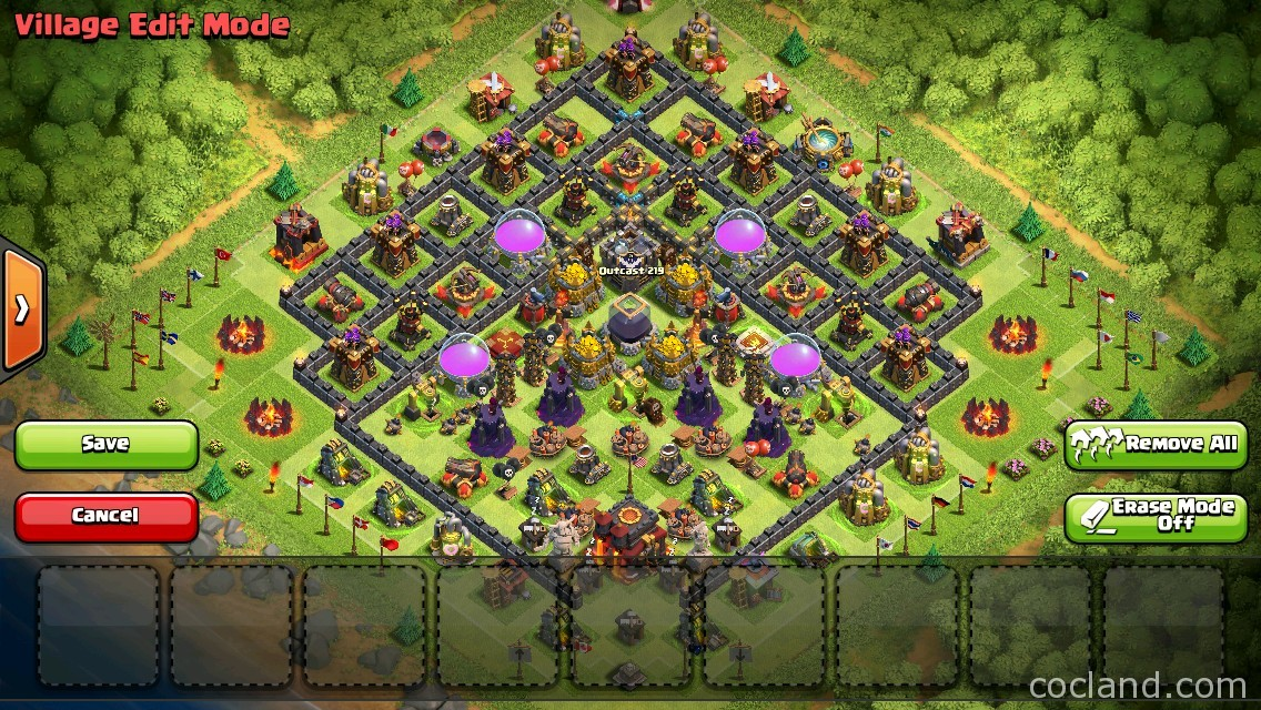 the deceiver base th10