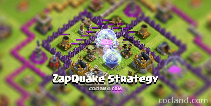 ZapQuake Strategy