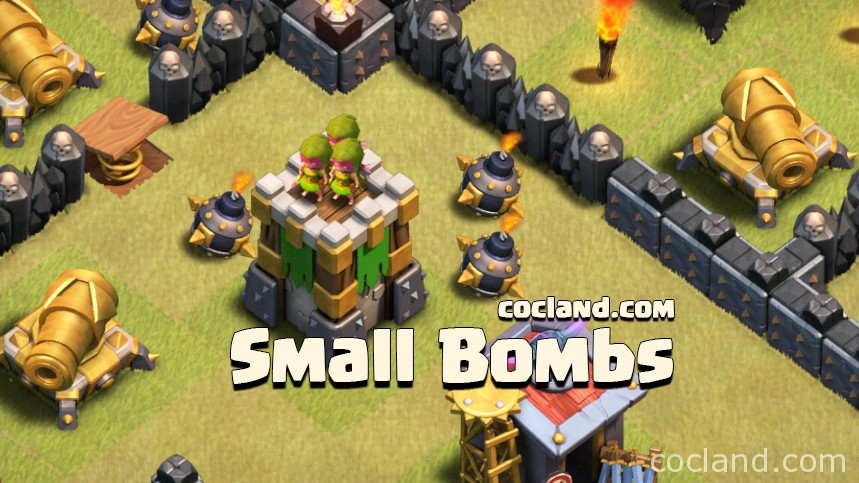 Small Bombs in Clash of Clans