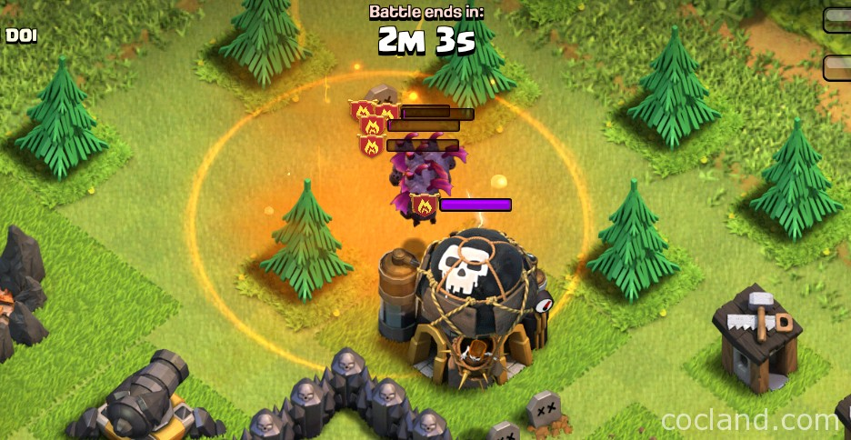 How to drop Spells on Air Troops Properly