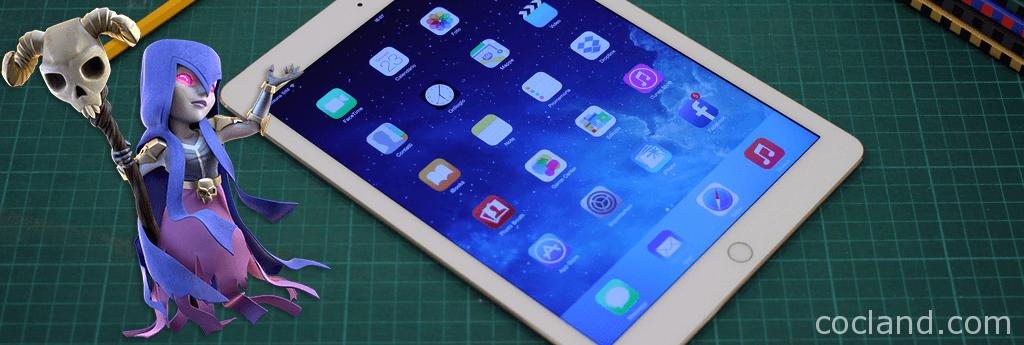 iPad Air 2 Clash of Clans