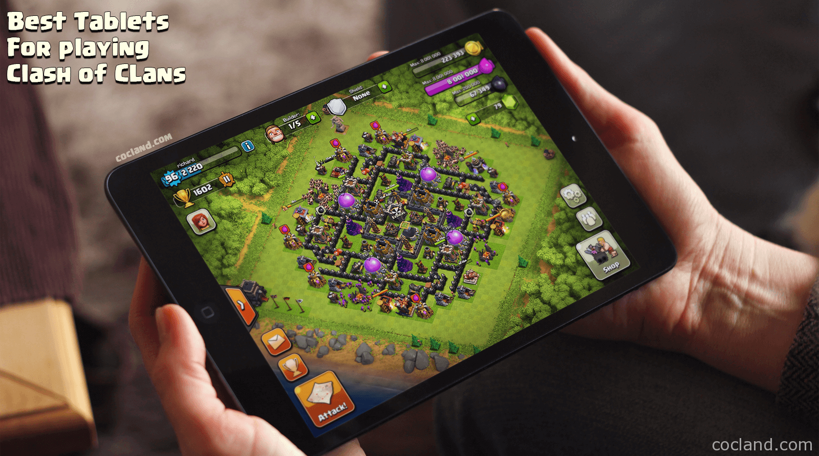 Top Tablets for Clash of Clans