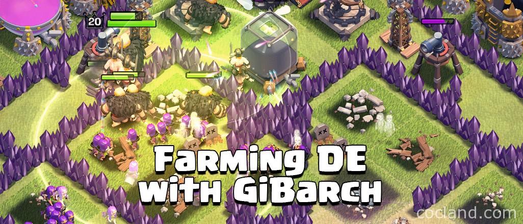 Dark Elixir Farming Guid