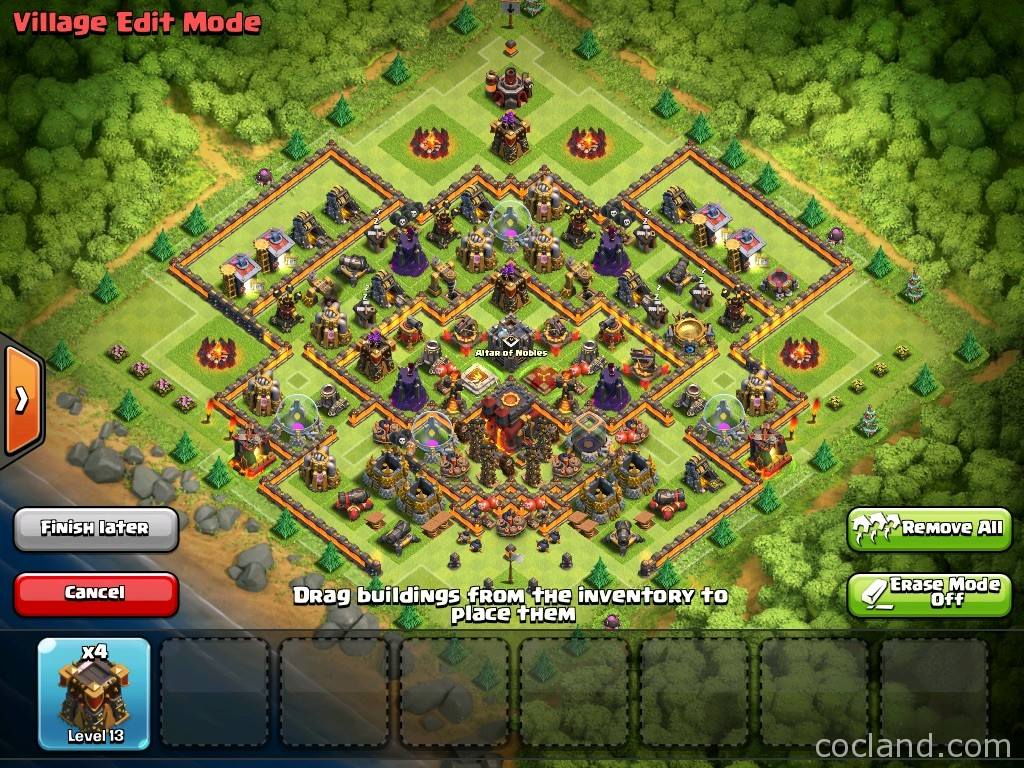 Th10 th11 pushing to titan by just defending clash of clans land