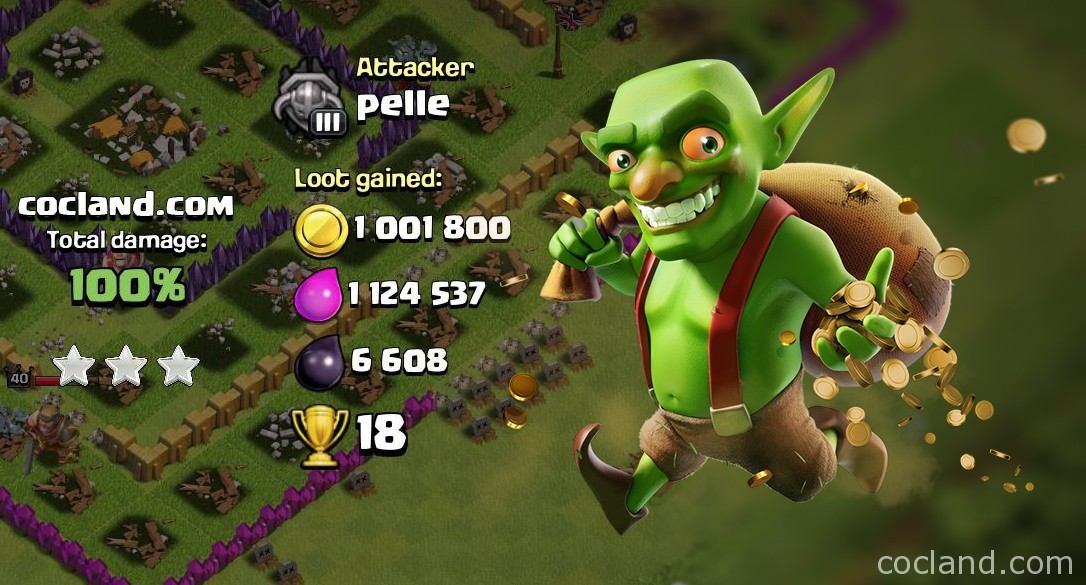 inactive base clash of clans