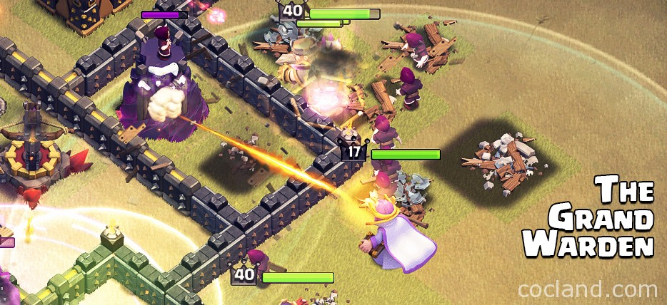 The Grand Warden Clash of Clans