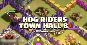 hog rider guide for town hall 8