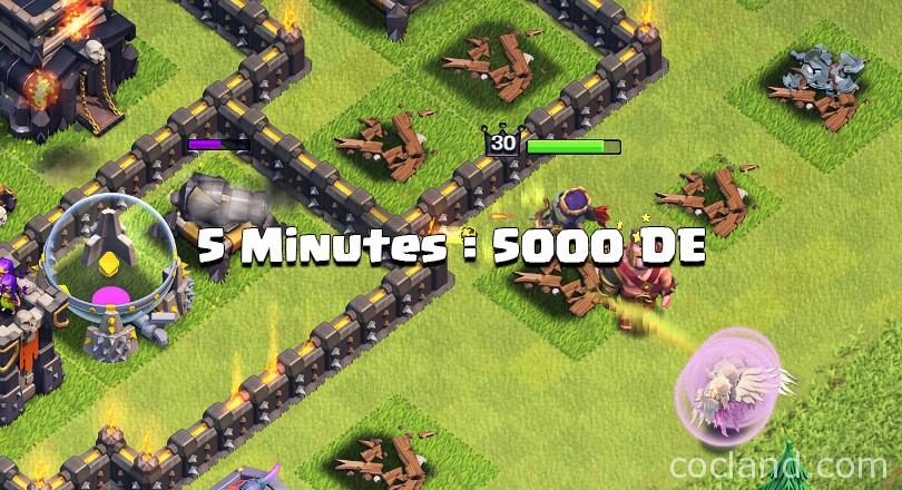how to make 5000 Dark Elixir in just 5 minutes