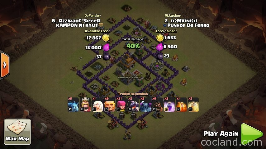 gems checkers of coc