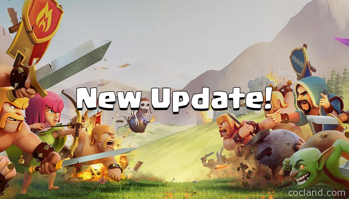 Clash of Clans Update 2016