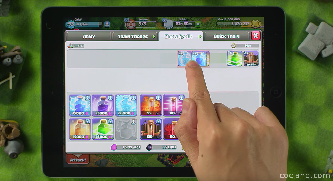 New Clash of Clans Army Training System