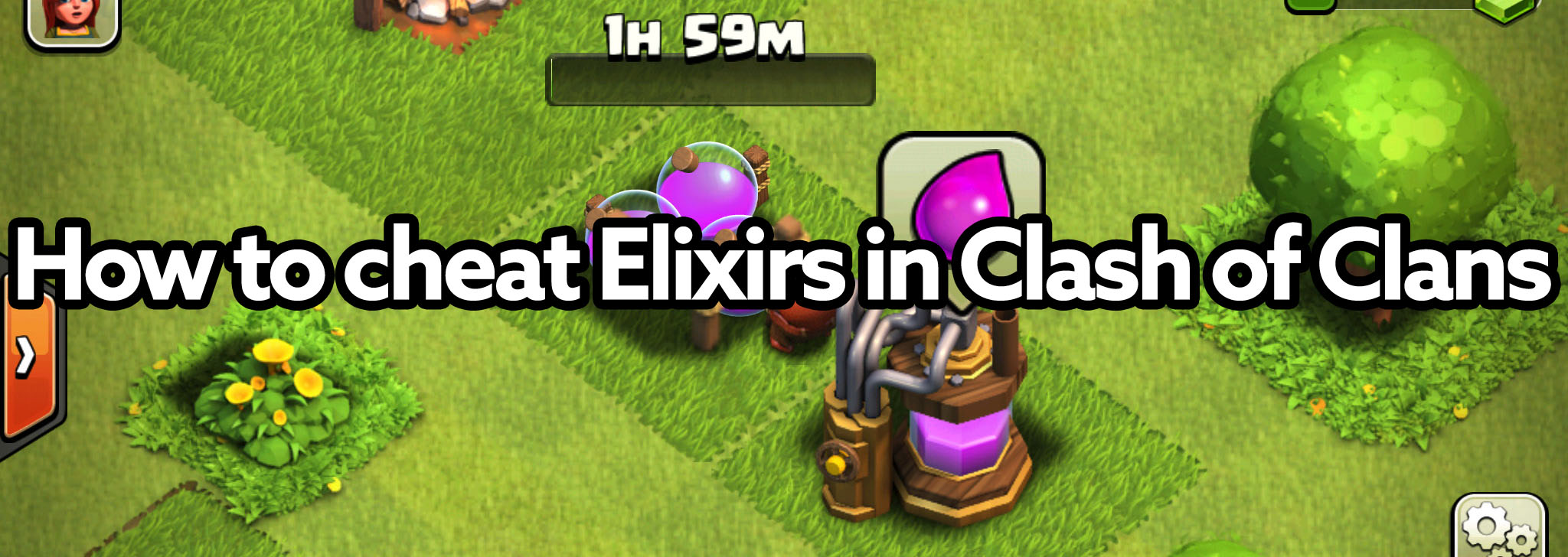 Elixirs Cheat in Clash of Clans