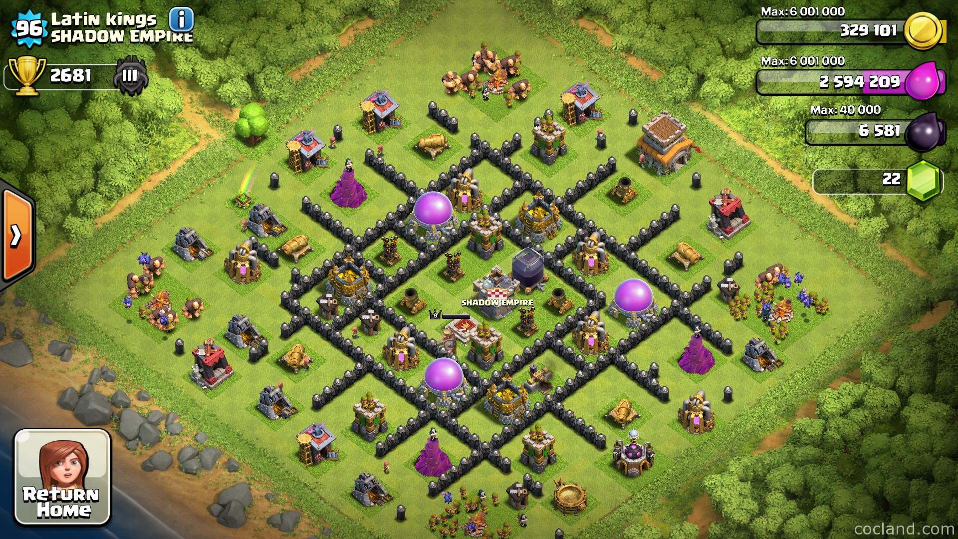Better Clash of Clans Base