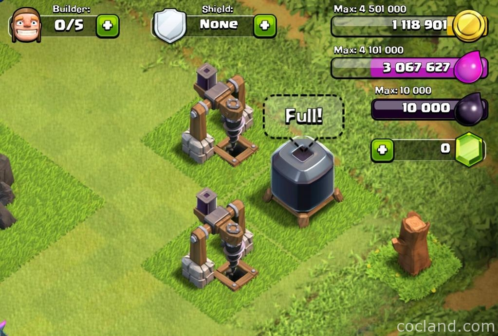 Dark Elixir Drills and Storage