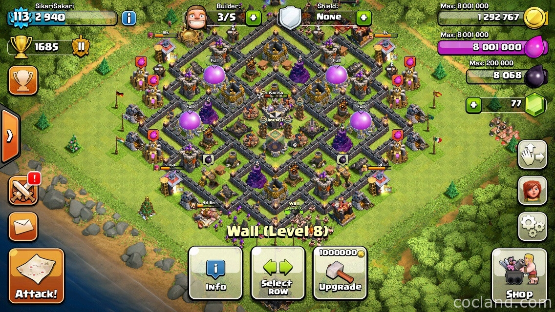 What should I do after upgrading my Town Hall?