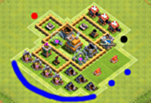 attacking-basic-townhall-level-4