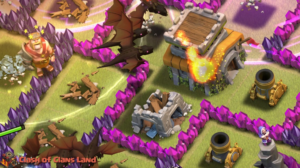 the gallery for gt clash of clans dragon level 6