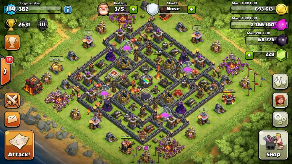 the-crown-early-town-hall-10-farming-base-2