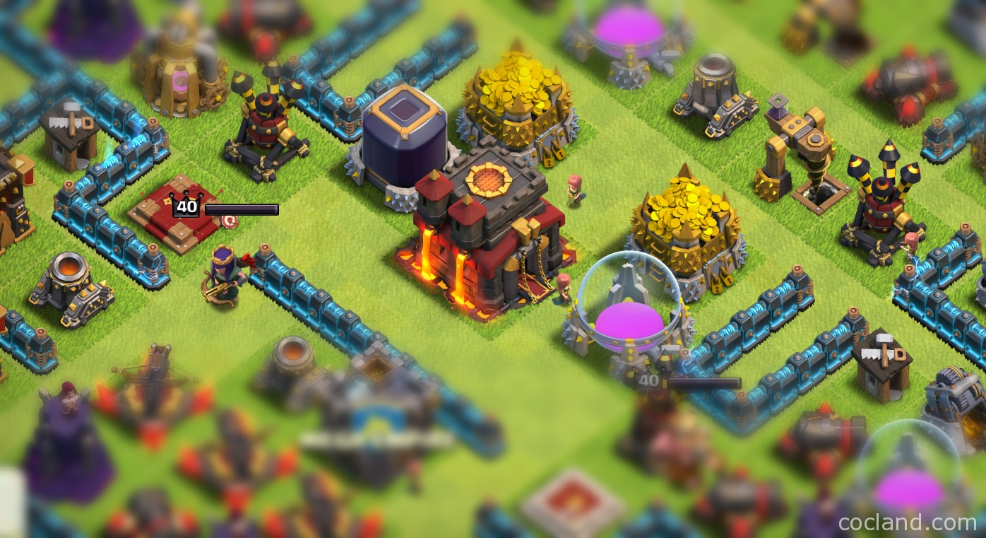 ultimate town hall 10 guide clash of clans land