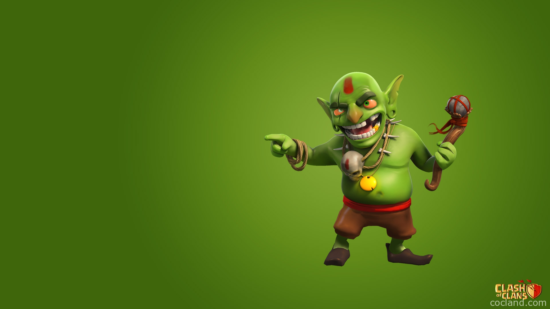 Clash of Clans Goblin Wallpaper