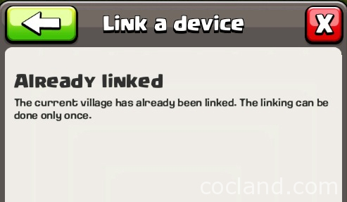 clash-of-clans-already-linked