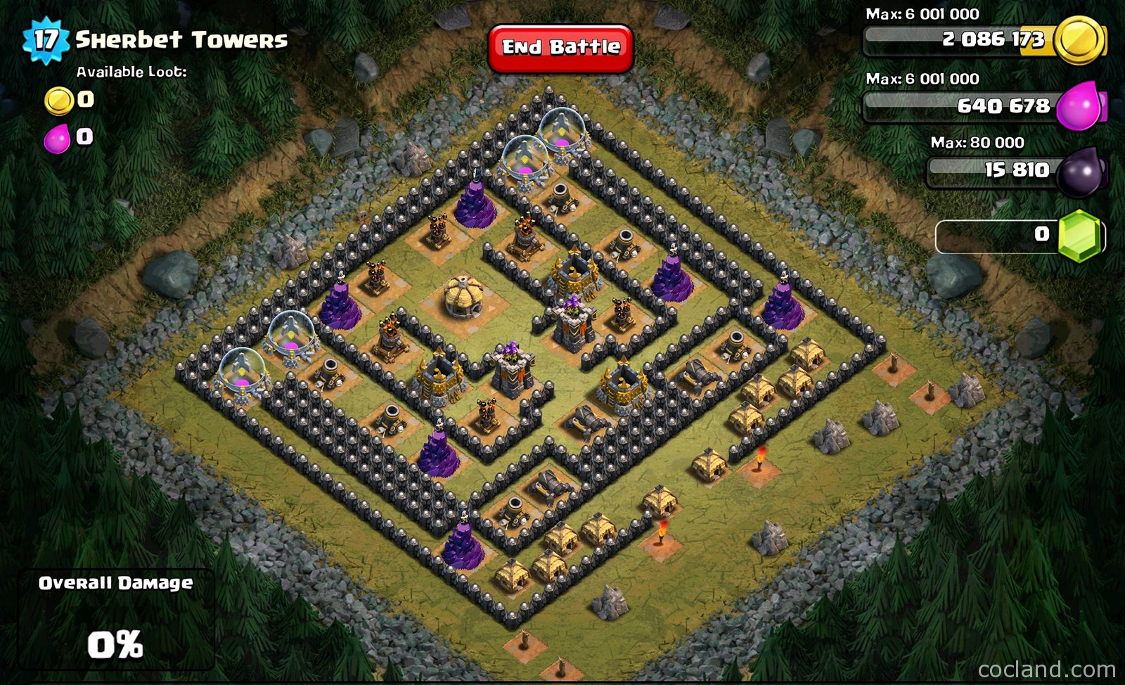 Defeat the Sherbet Towers with TH7 troops | Clash of Clans Land