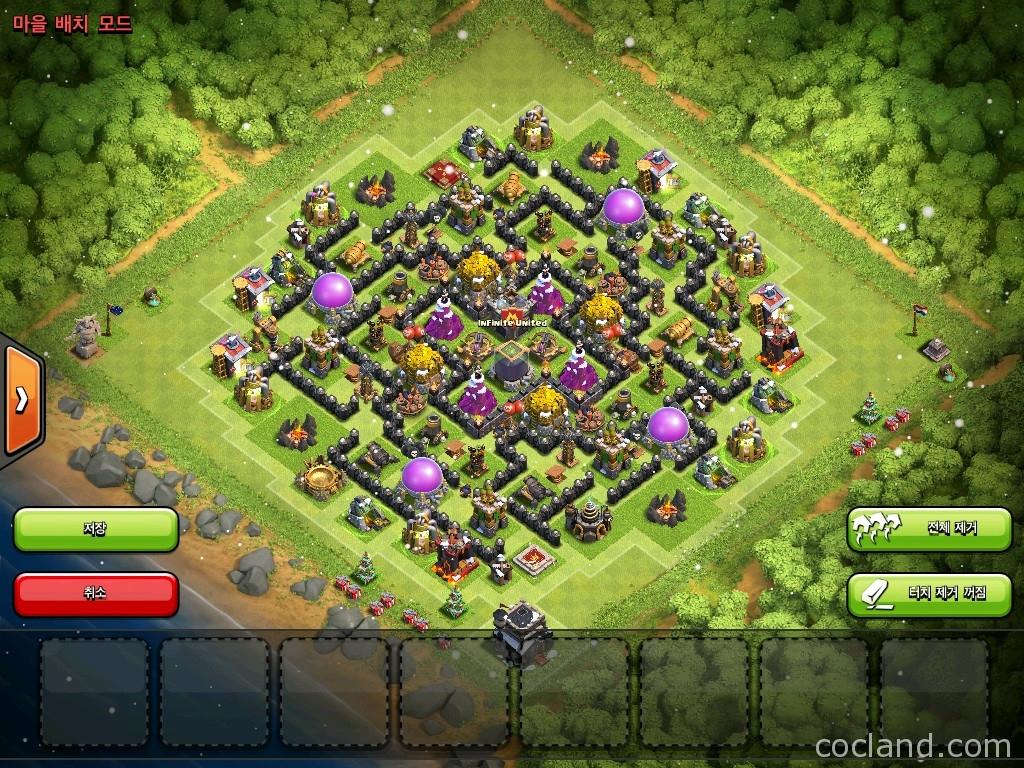 Base Coc Th 9 Labirin 10