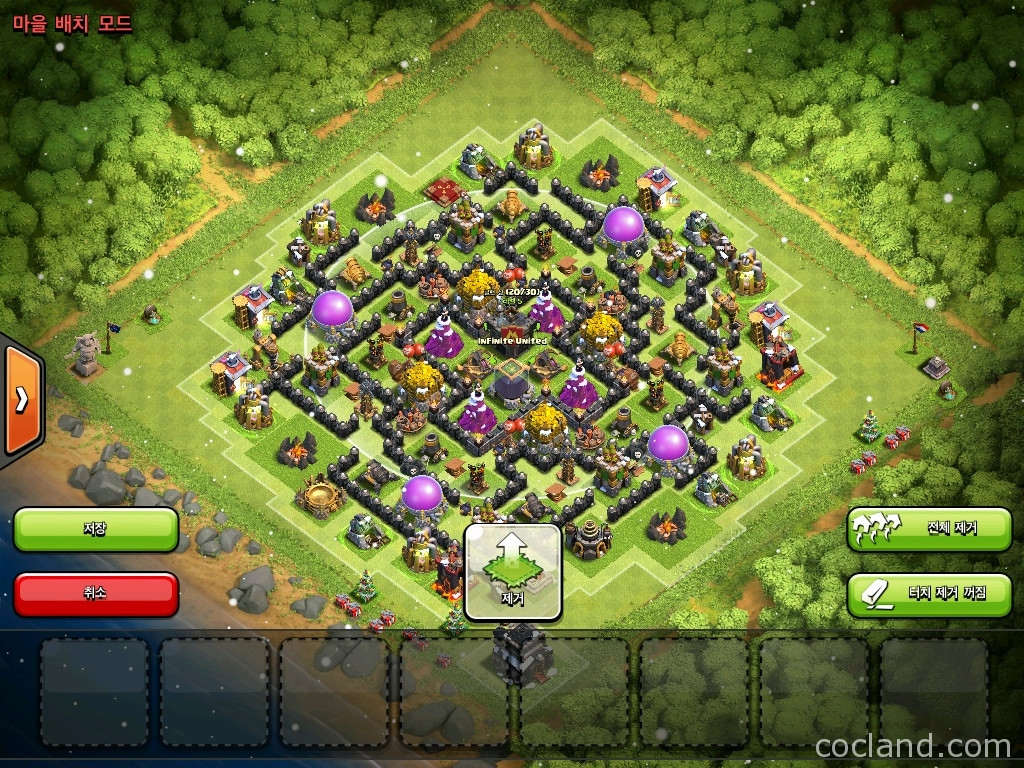 Base Coc Th 8 Labirin 7
