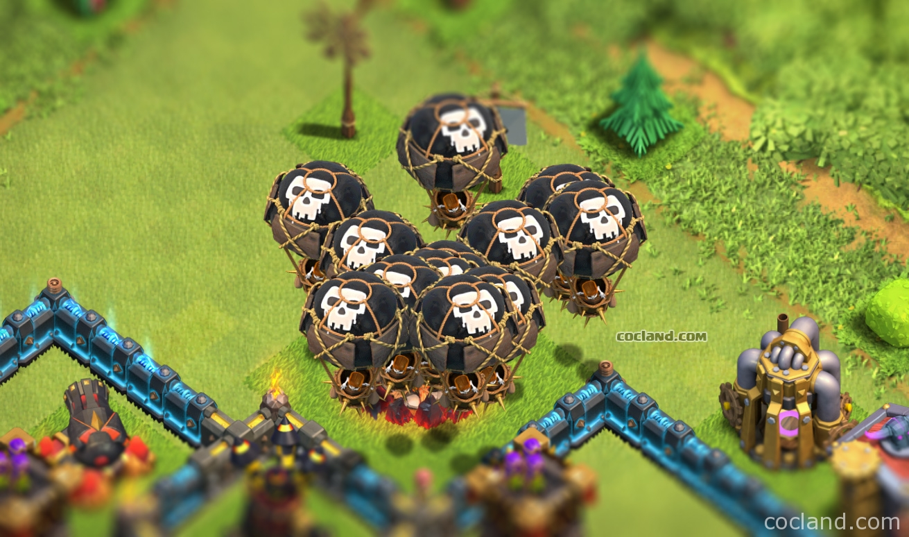 Balloons in Clash of Clans