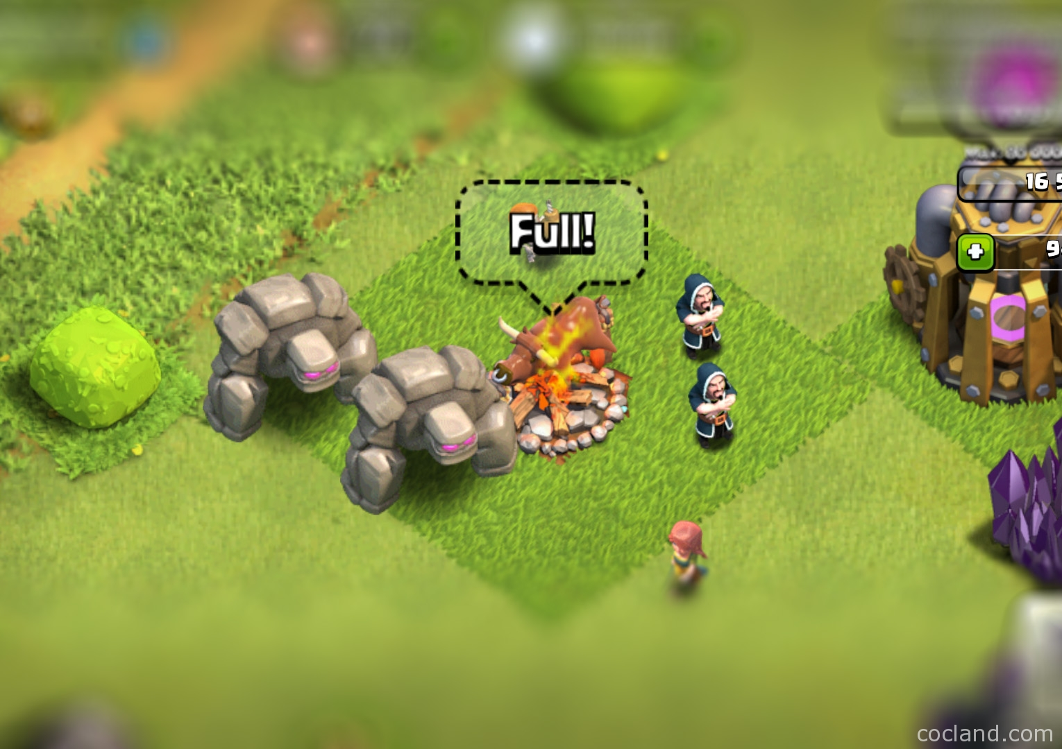 golem guide tips and tricks clash of clans land