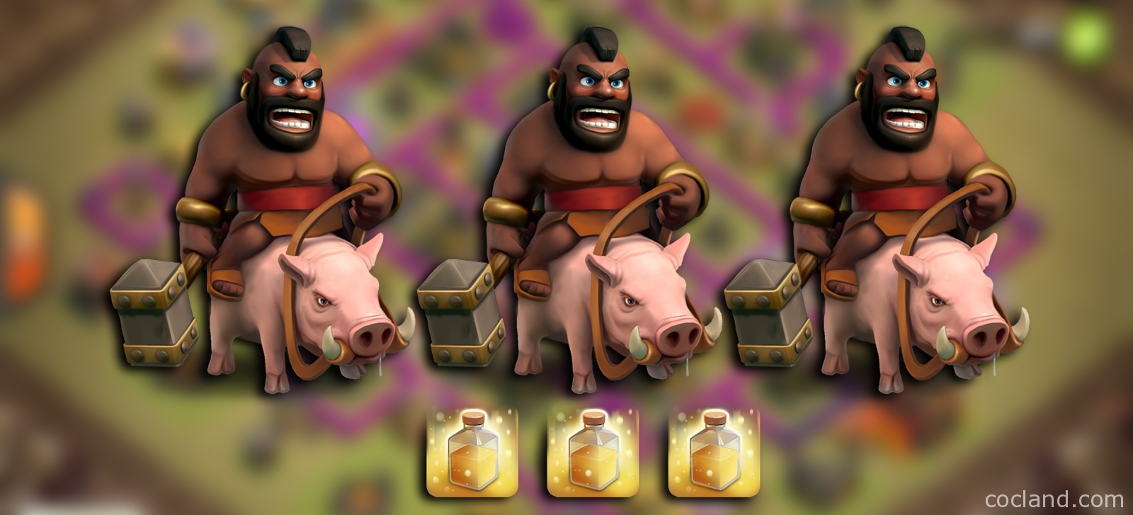 Advanced Hog Riders Attack Strategy